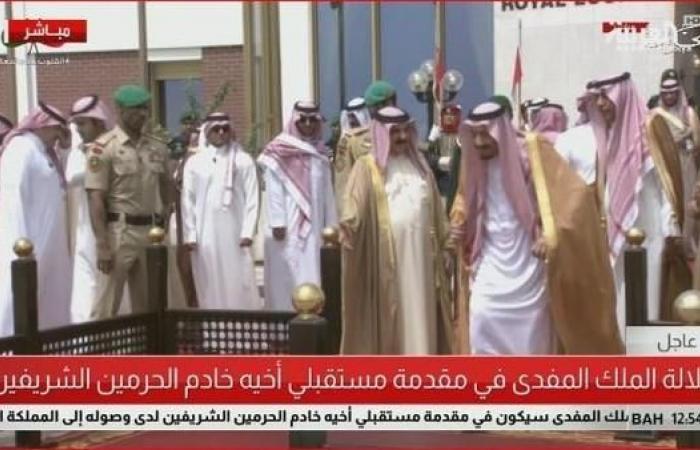الخليح | الملك سلمان يصل إلى البحرين في زيارة رسمية