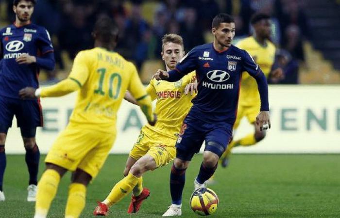 ليون يسقط على أرض نانت في الدوري الفرنسي