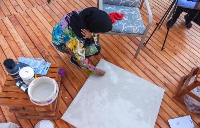 """الخليح   بالصور.. مبادرة مسك الخيرية """"تجلت"""" تحول وسط العوامية إلى لوحة فنية"""
