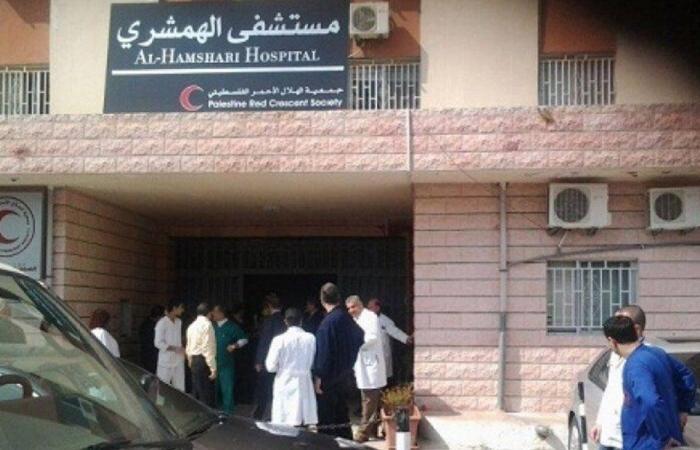 حريق في مستشفى الهمشري- صيدا