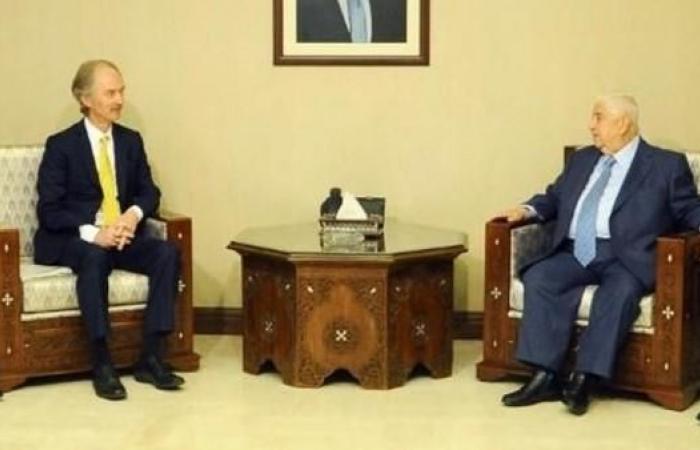 سوريا | المبعوث الدولي إلى سوريا يجري مباحثات جديدة في دمشق