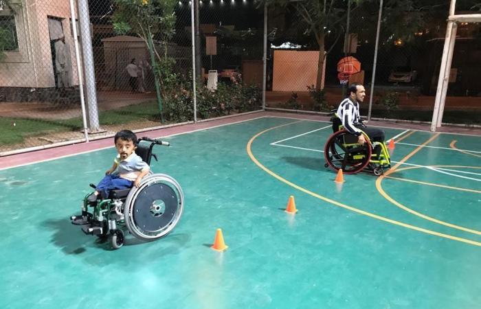 الخليح | قصة سعودي أنشأ حديقة خاصة بذوي الإعاقة