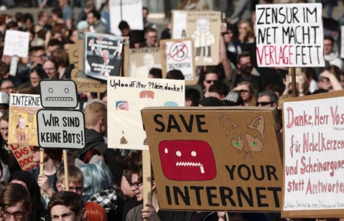 الاتحاد الأوروبي يمرر قانون حقوق النشر المثير للجدل