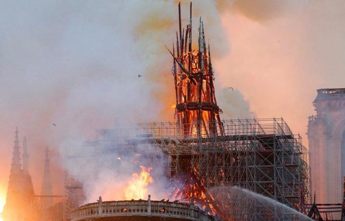 ابي رميا: كاتدرائيتي تحترق!