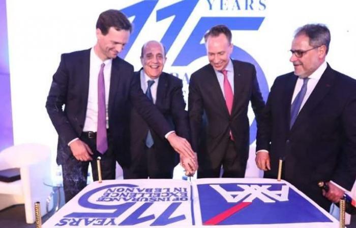 الرئيس التنفيذي لمجموعة 'أكسا': فخورون بشركة 'أكسا الشرق الأوسط' الموجودة في لبنان