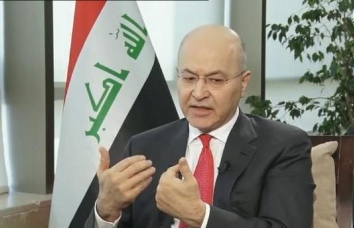 العراق   هذا ما غرد به رئيس العراق عن حريق نوتردام