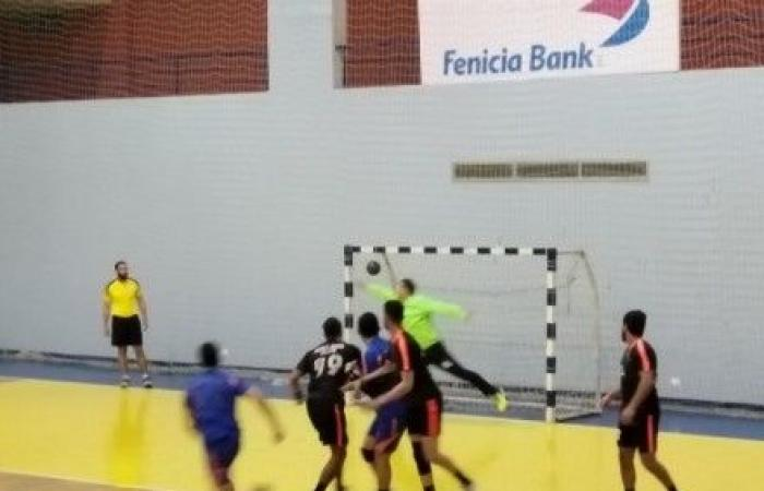 فوز الشباب حارة صيدا على الجمهور في بطولة كرة اليد