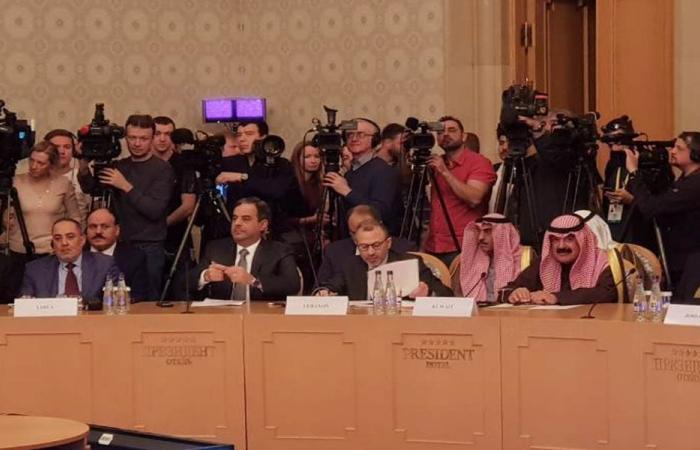 باسيل يطرح ملف النازحين في المنتدى الروسي العربي للتعاون