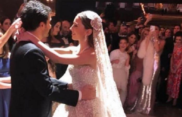 نادي رياض سلامة الى القفص الذهبي.. شاهدوا الزفاف الأسطوري (صور وفيديو)
