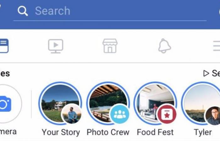 """فيسبوك تختبر إمكانية تصفح منشورات """"آخر الأخبار"""" مثل """"القصص"""""""
