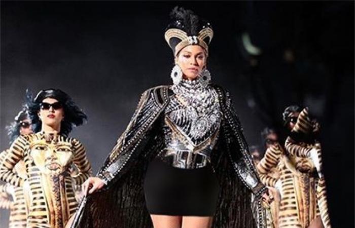 بيونسيه 'ملكة فرعونية' بلمسات نيكولا جبران (صورة)