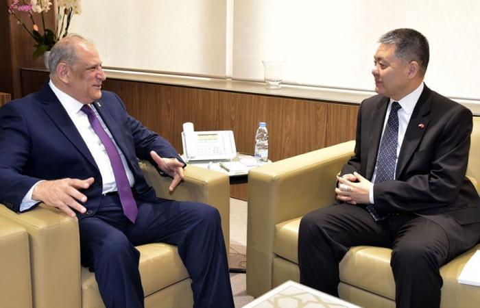 الجراح التقى سفيري الصين والأرجنتين