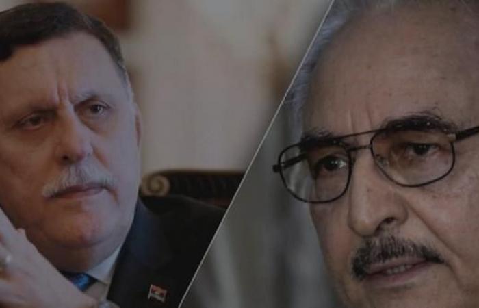 """حرب """"مذكرات"""" بين حفتر والسراج.. و""""القذافي"""" قلق!"""