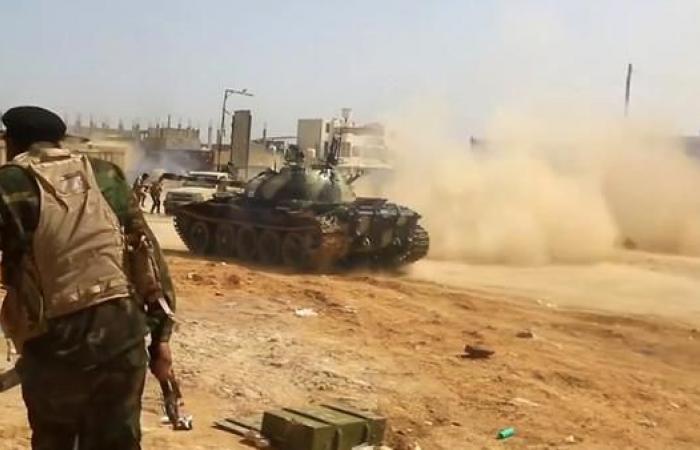 الجيش الليبي يتقدم بطريق المطار والسواني قرب طرابلس