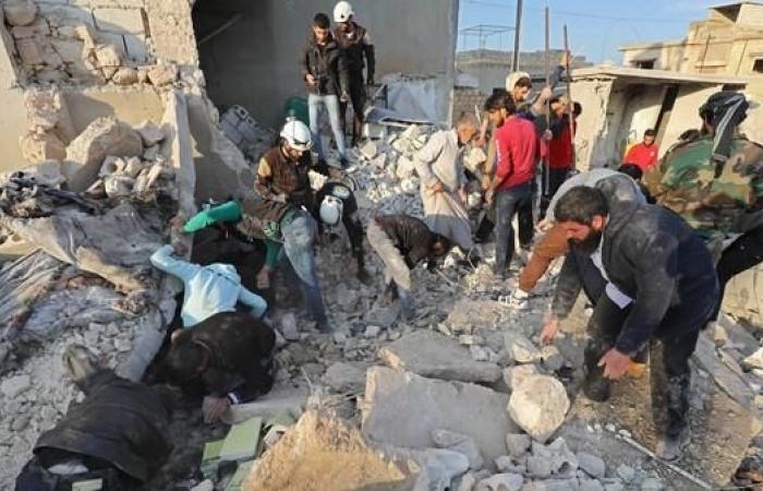 """سوريا   انفجار """"مجهول"""" في إدلب يقتل 18 شخصا"""