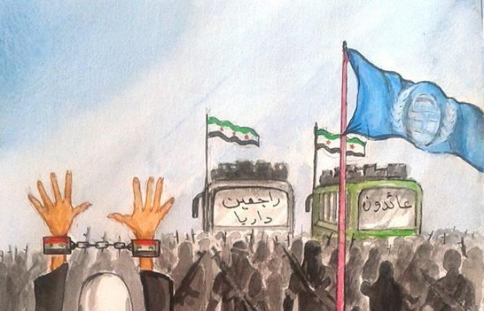 "سوريا | رحيل رسام كاريكاتير فضح دور إيران و""حزب الله"" في سوريا"