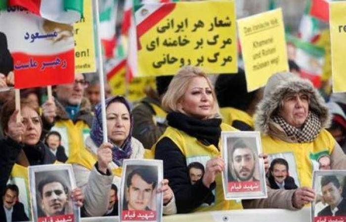 تظاهرات للإيرانيين في عواصم العالم للمطالبة بالحرية لبلدهم