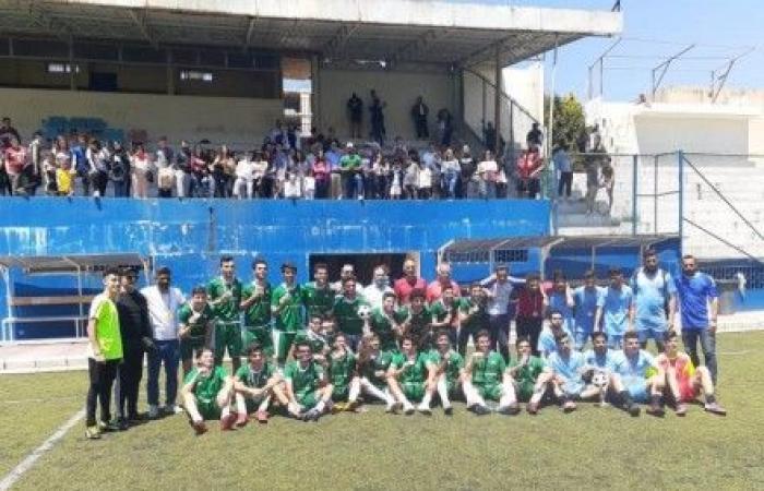 الشويفات الدولية بطلة كرة القدم المدرسية