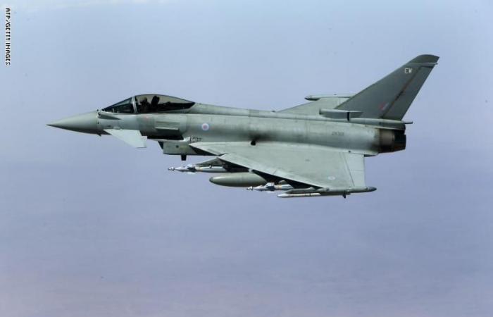 مقاتلات بريطانية تعترض طائرات روسية