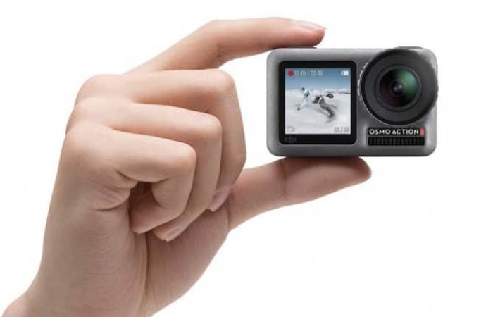 DJI تنافس GoPro عبر كاميرا Osmo Action