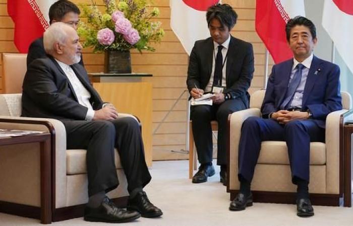 إيران | آبي لظريف: قلقون إزاء التوتر المتزايد في الشرق الأوسط