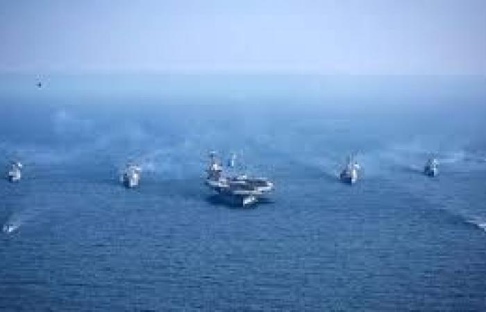 تدريبات بحرية بين الولايات المتحدة واليابان وكوريا الجنوبية قرب غوام