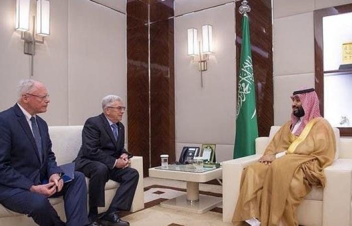 الخليح | ولي العهد السعودي يبحث المستجدات مع مبعوث أميركا لسوريا