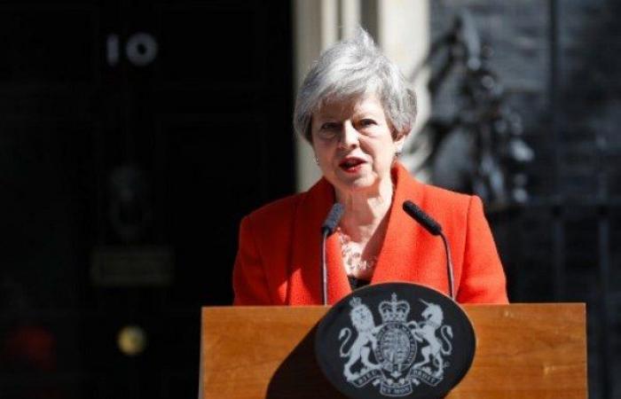 رئيسة الوزراء البريطانية تيريزا ماي تعلن استقالتها