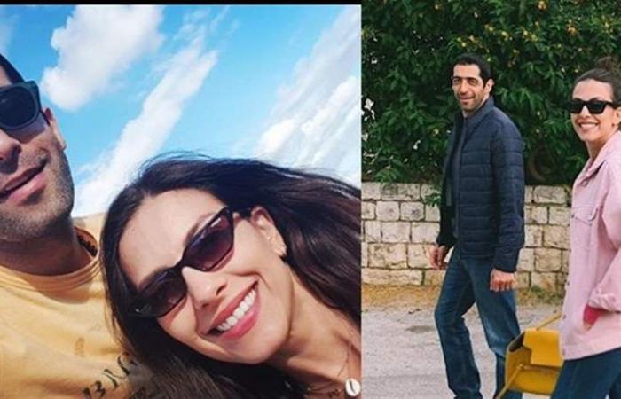 بعدما سافرت مع زوجها 'النائب'.. ريتا لمع تخطف الأنظار بجمالها! (صور)