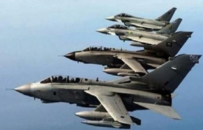 اليمن   طيران التحالف يستهدف تعزيزات ميليشيات الحوثي في حجة