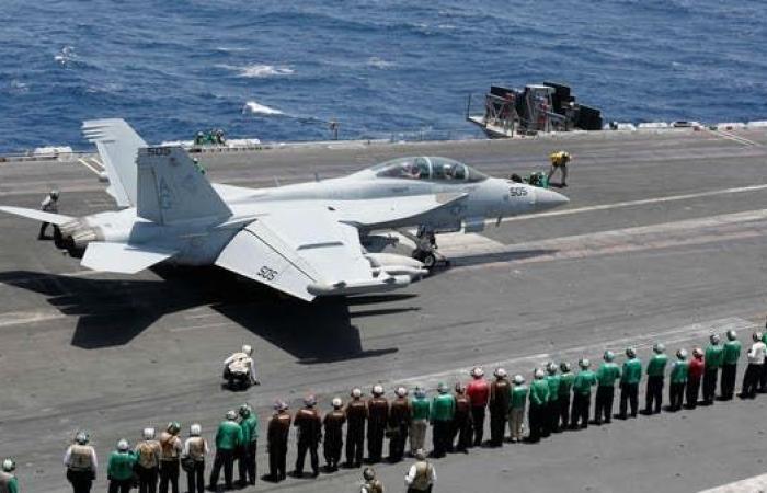 """إيران   الجيش الأميركي: حاملة طائراتنا جعلت إيران تعدل عن """"الهجوم"""""""