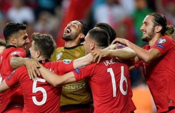 """تركيا تسقط """"الديوك"""" في تصفيات يورو 2020"""