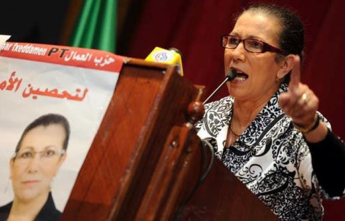 قيادي في حزب العمال الجزائري: صحة لويزا حنون تدهورت