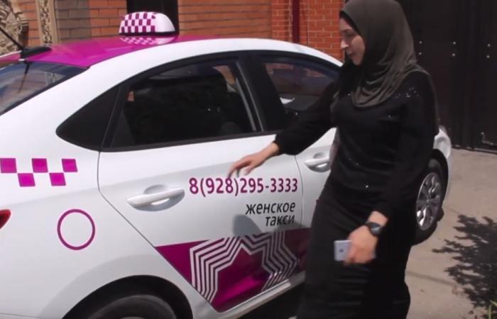 سائقات سيارات أجرة في الشيشان... في تصرف النساء