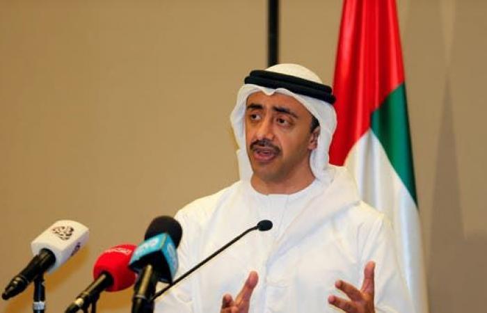 الخليح | عبدالله بن زايد: حادث الفجيرة اعتداء على الإمارات وسلامة الملاحة