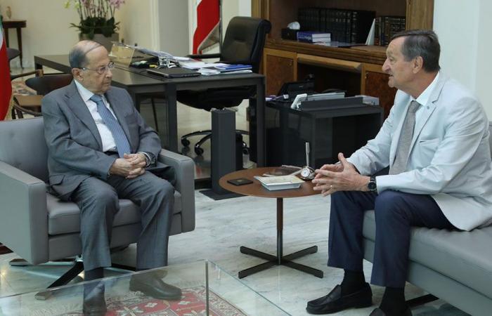 نائب فرنسي من بعبدا: بفضل حكمة عون مستقبل لبنان سيكون أفضل