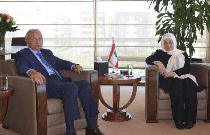 الصفدي التقى بهية الحريري: طرابلس متمسكة بمفهوم الدولة
