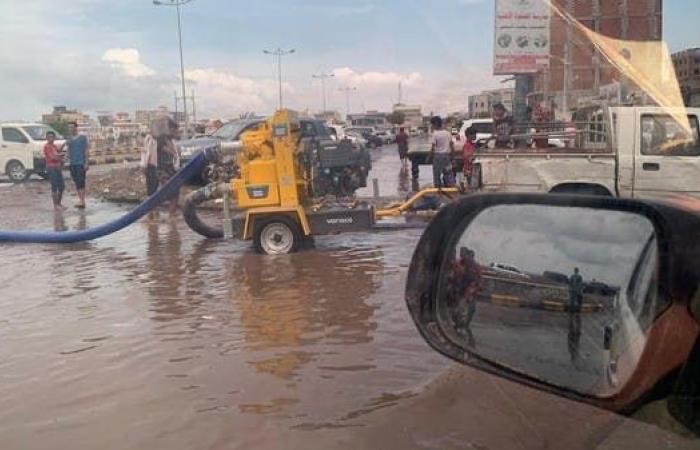 اليمن | المياه تغمر عدن.. وتحالف دعم الشرعية يطلق إغاثة عاجلة
