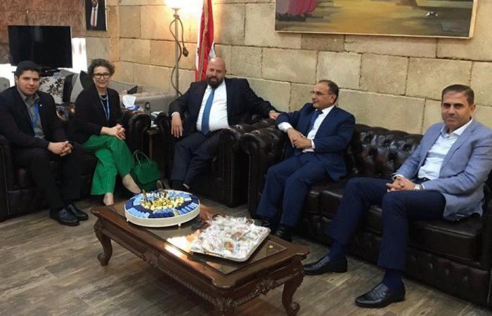 نهرا استقبل مسؤولة مكتب مفوضية الأمم المتحدة في الشمال