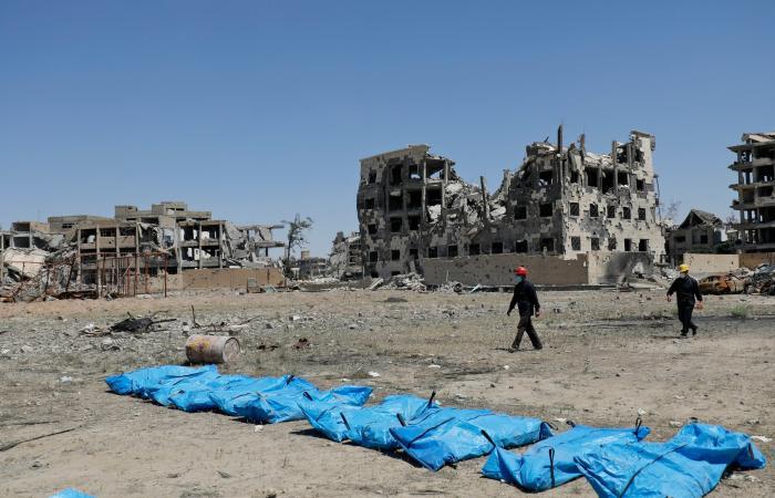 """سوريا   """"ركام التحرير"""".. موقع دولي يوثق دمار الرقة"""