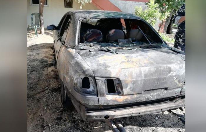 إحراق سيارة زوجة شيخ في القرقف.. والبلدية تُحذر