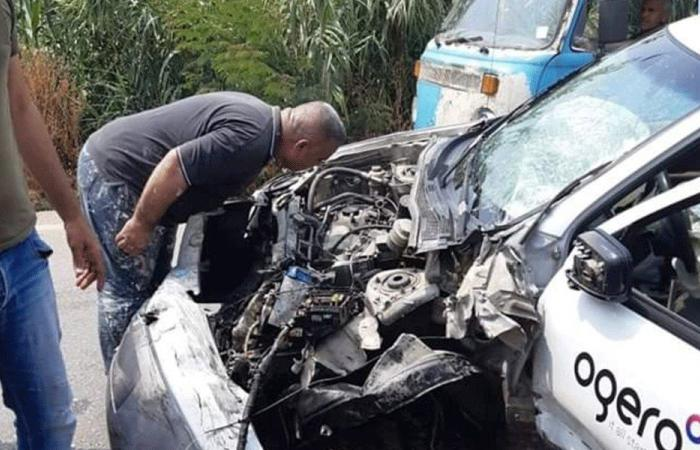جرحى بحادث سير في عكار