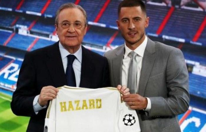 هازارد: حققت حلم طفولتي بالانضمام إلى ريال مدريد
