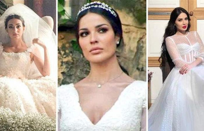 نجمات 'الهيبة' بالفستان الأبيض.. من الأجمل؟! (صور)