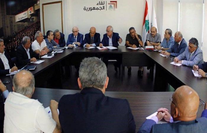 لقاء الجمهورية: الأخطاء الوطنية تهدد الوفاق الوطني