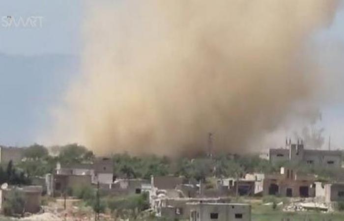 سوريا | قصف جوي ومعارك بشمال غرب سوريا يخلف 35 قتيلاً