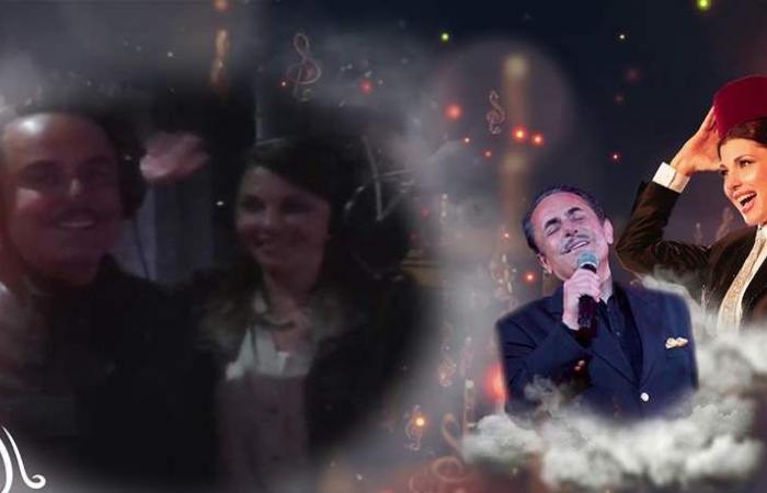 لقطات حصريّة بين ملحم بركات وماجدة الرومي (فيديو)