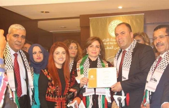 بعد منحها لقب 'سيدة الأرض'.. هذه رسالة إلهام شاهين لفلسطين