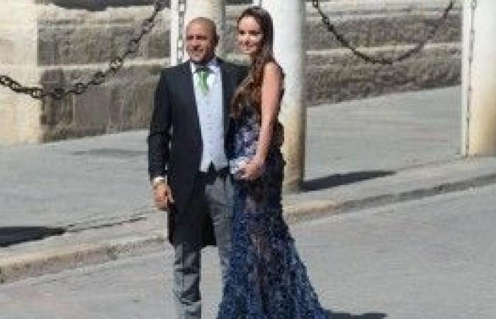 بالصور: مشاهير كرة القدم في زفاف راموس .. ونجمان غائبان
