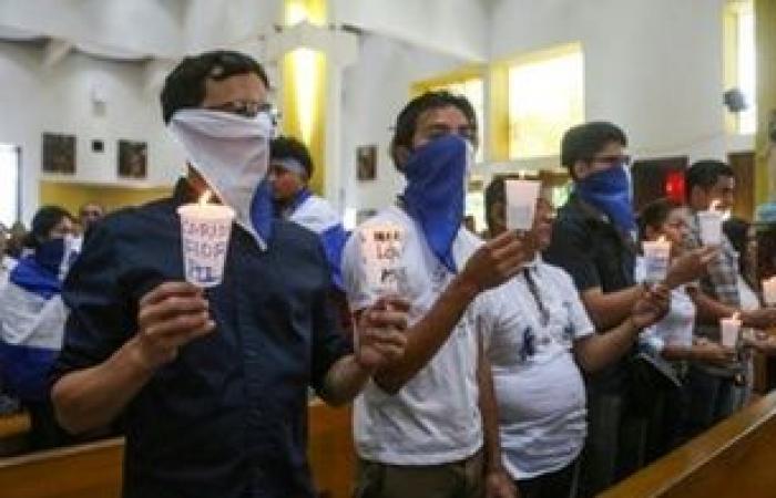 مواجهة بين عناصر من الشرطة وشبان متظاهرين في نيكاراغوا